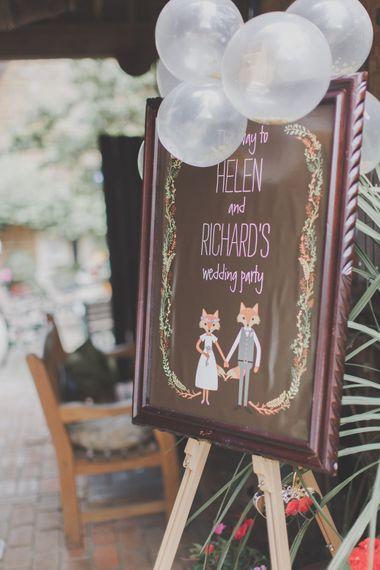 Wedding Stationery Sign