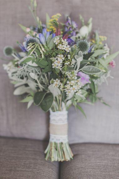 Rustic Wild Flower Wedding Bouquet