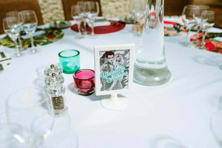 True Romance Illustrated Table Names