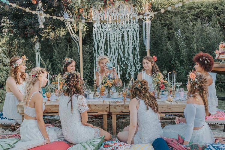 Alternative Hen Do Inspiration For The Bohemian & Creative Bride