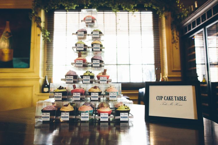 "Supermarket Cupcake Tower | Image by <a href=""https://www.misterphill.com/"" target=""_blank"">Mister Phill</a>"