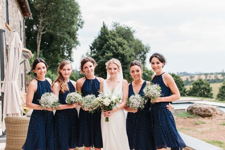 "High Street Bridesmaids Dresses | Image by <a href=""https://studioaq.com/"" target=""_blank"">Studio A+Q</a>"