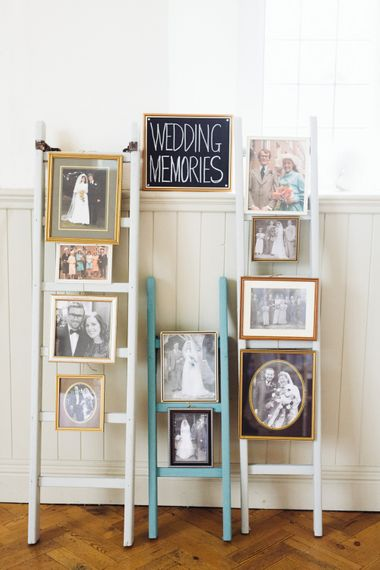 "Photo Frames From The High Street | Image by <a href=""https://www.catlaneweddings.com/"" target=""_blank"">Cat Lane</a>"