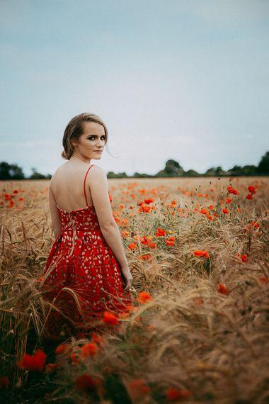 Beautiful Red Bridesmaids Dress