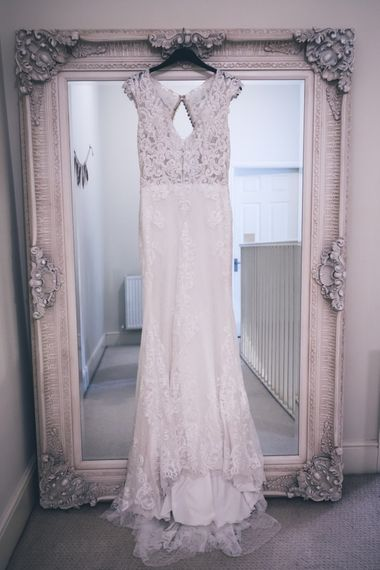 Lace The Signature Collection Bridal Gown from Wed2b | Classic Wedding at The Mytton & Mermaid, Atcham | Willo Photography