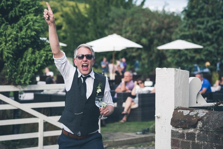 Wedding Guests | Classic Wedding at The Mytton & Mermaid, Atcham | Willo Photography