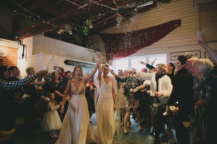 Intimate Wedding Ceremony at East Quay