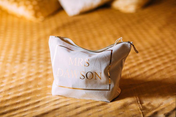 Rock On Ruby Makeup Bag | Destination Wedding at Casa Cornacchi in Italy | Albert Palmer Photography