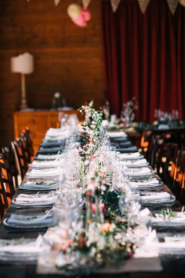 Table Scape | Destination Wedding at Casa Cornacchi in Italy | Albert Palmer Photography