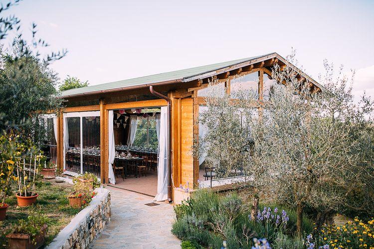 Reception | Destination Wedding at Casa Cornacchi in Italy | Albert Palmer Photography