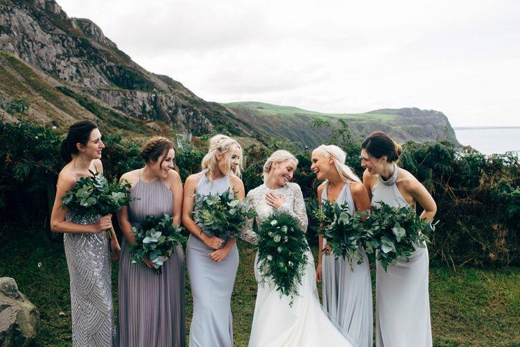 Green Foliage Wedding Bouquets