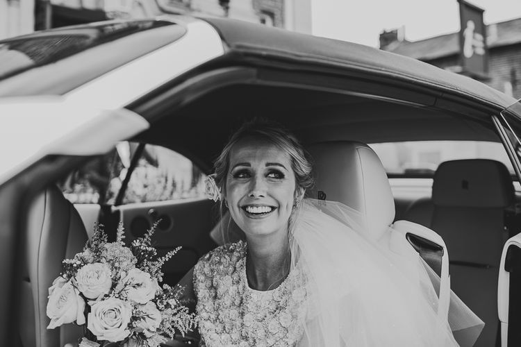 Bridal Entrance in Separates by Suzannah | Nautical At Home Marquee Wedding by 81 Events | RS Brown Photography
