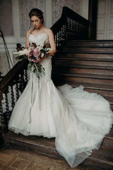 Bride in Gown from Te Amo Brides | Clare Kinchin Photography