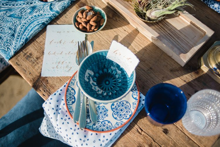 Moroccan Styling For A Wedding Reception On The Beach