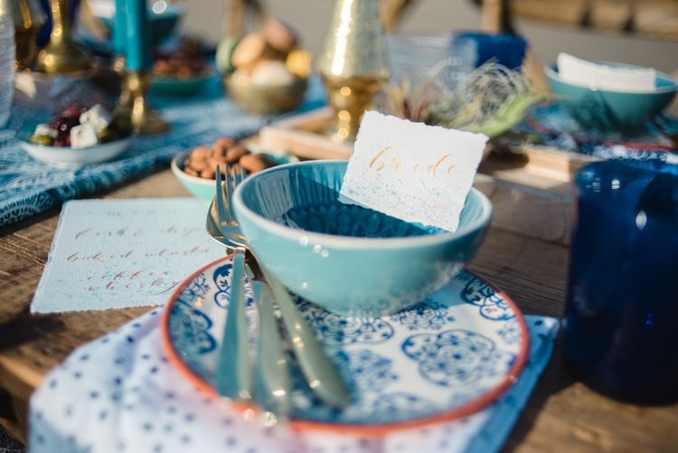 Moroccan Styling For A Wedding Reception