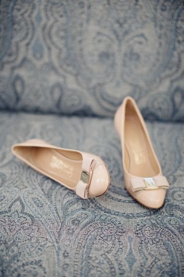 Bude Bow Bridal Shoes | M and J Photography