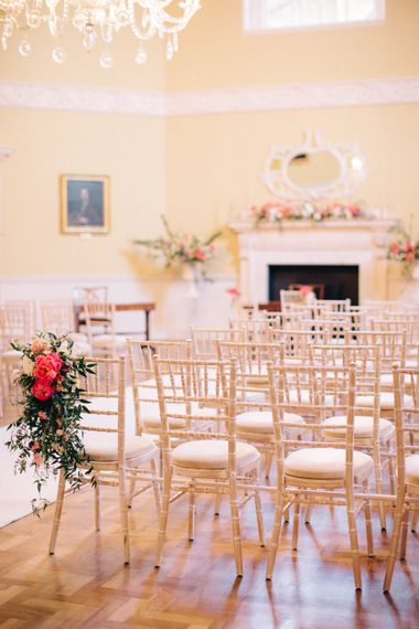 Ceremony Room | Timeless Wedding Assembly Rooms in Bath | M and J Photography