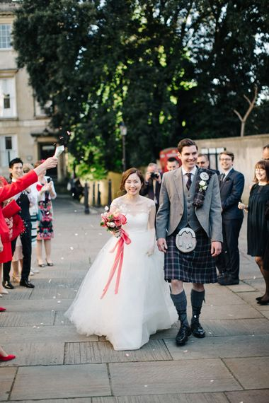 Confetti Moment | Timeless Wedding Assembly Rooms in Bath | M and J Photography