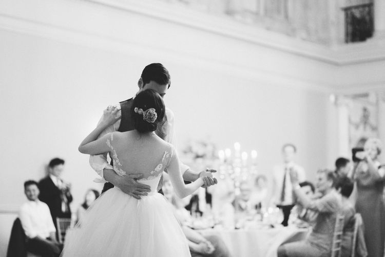 First Dance | Timeless Wedding Assembly Rooms in Bath | M and J Photography