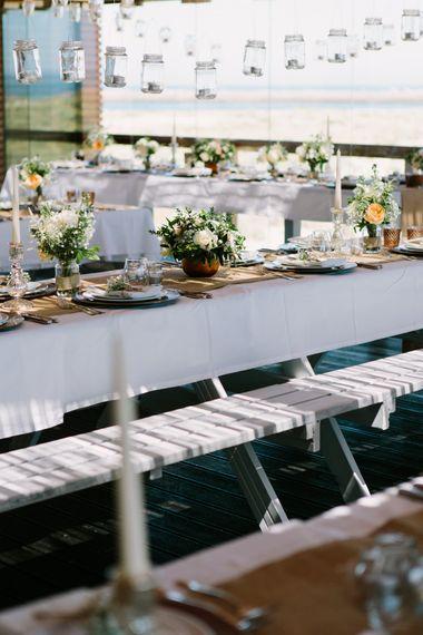 Reception Wedding Decor | Jade Osborne Photography | The Amazing Rabbit Films