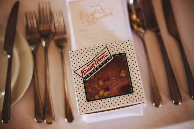 Krispy Kreme Donut Wedding Favour