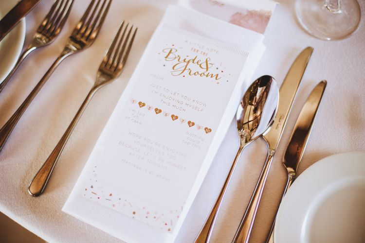 Mad Libs For Wedding Guests