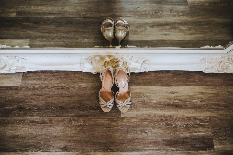Metallic Wedding Shoes by Kurt Geiger