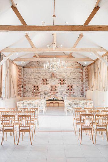 Peach & White Wedding at Upwaltham Barns | White Stag Wedding Photography