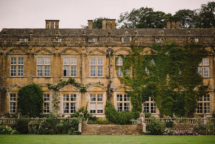 Elegant Wedding Brympton House Somerset With Bride Wearing Inbal Dror And Groom In Black Tux By Alexander McQueen With Images From Modern Vintage Weddings