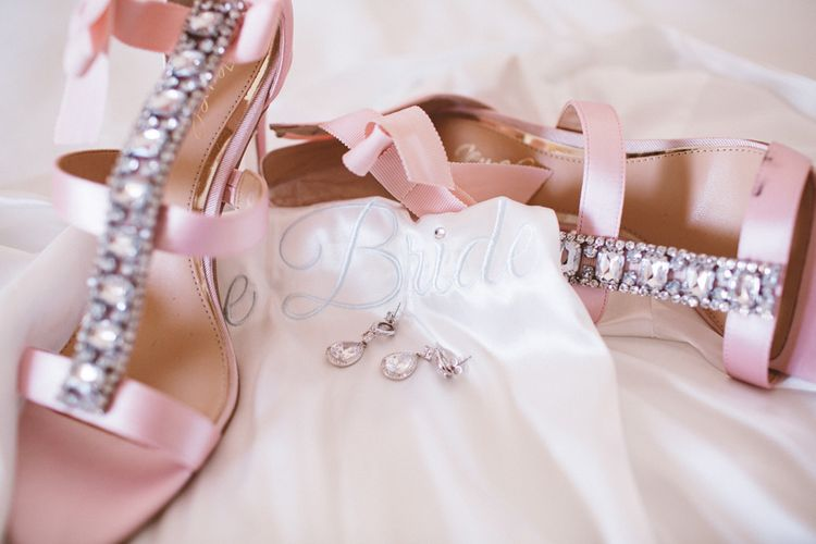 Badgley Mischka Bridal Shoes | Augustus Gardens, Capri Italy Destination Wedding | Paolo Ceritano Photography