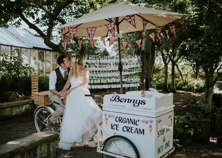 Ice Cream Cart For Wedding Reception
