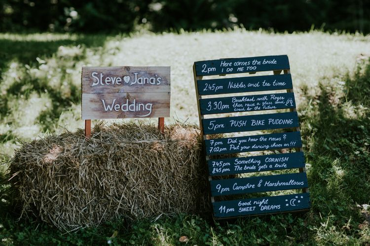 Woodland Themed Wedding In A Greenhouse