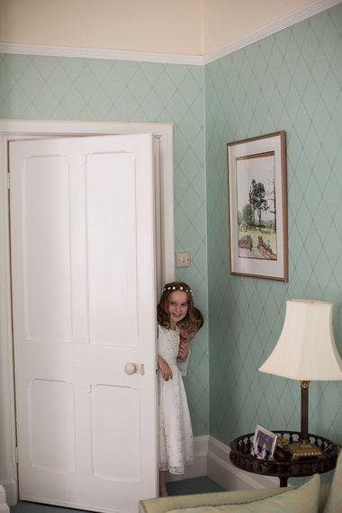Flower Girl in Marks and Spencer Dress