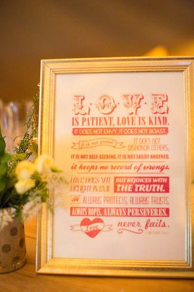 Love Wedding Sign | Wedding Decor