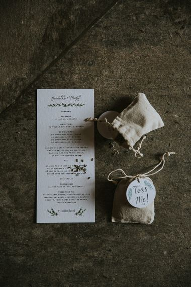 Wedding Stationery | Rustic Barn Wedding in Norway | Christin Eide Photography