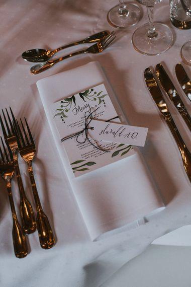 Laurel Wedding Stationery | Wedding Decor | Rustic Barn Wedding in Norway | Christin Eide Photography