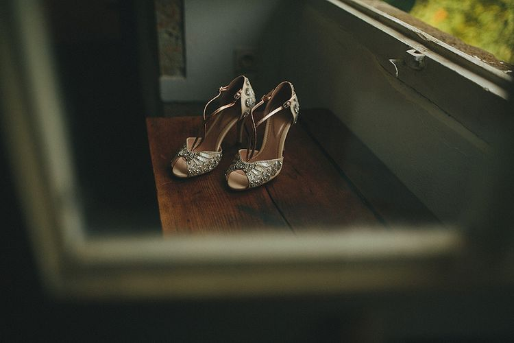 Emmy London Bridal Shoes | Petar Jurica Photography