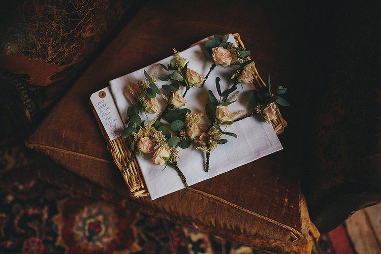 Blush Buttonholes | Petar Jurica Photography