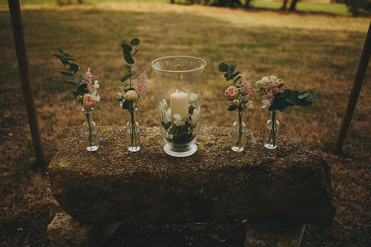 Wedding Flower Stems Decor | Petar Jurica Photography