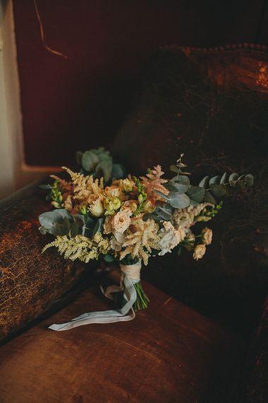 Blush Pink & Green Wedding Bouquet | Petar Jurica Photography