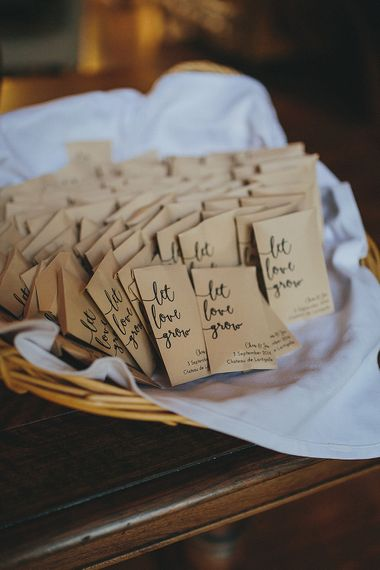 Let Them Grow Seed Wedding Favours | Petar Jurica Photography