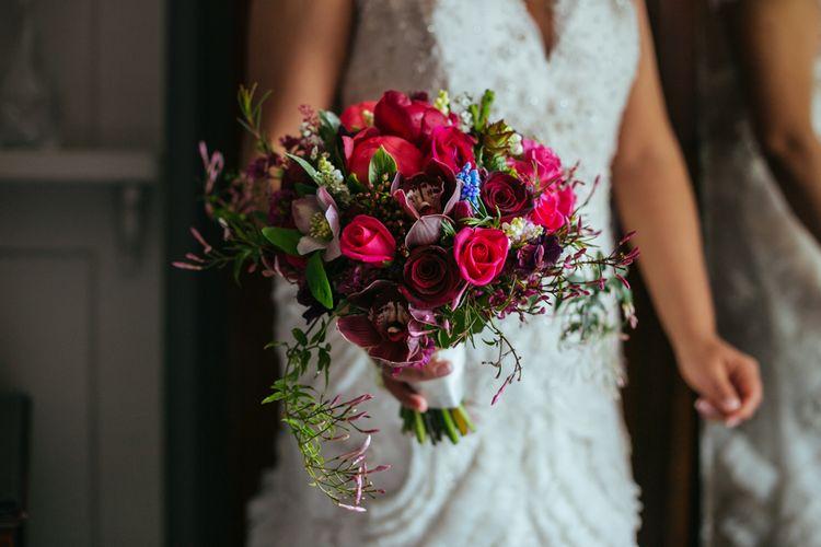 Pin Rose Bouquet | Helen Abraham Photography