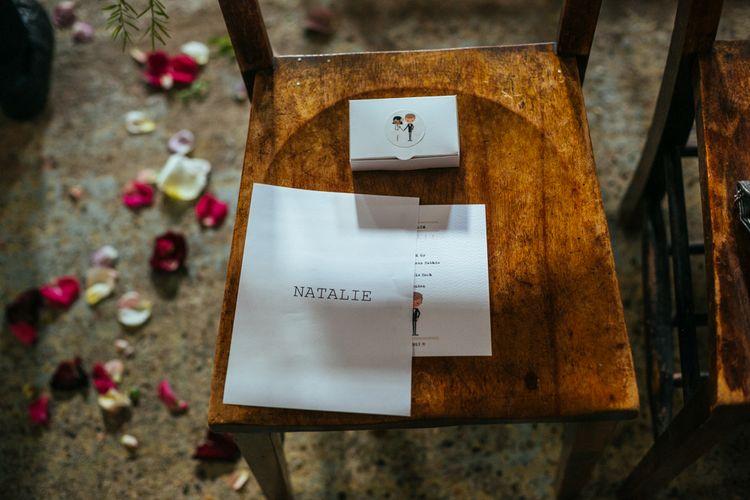 Chair Decor | Helen Abraham Photography