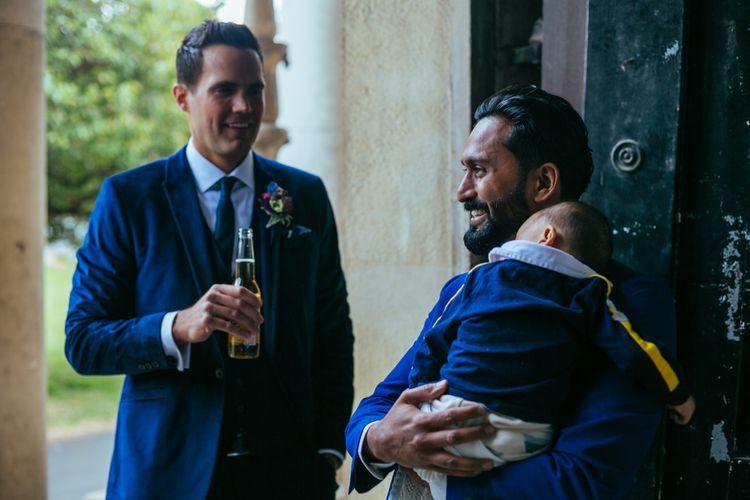 Navy Ted Baker Suits | Helen Abraham Photography