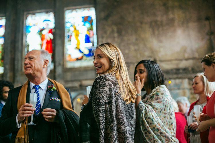 Wedding Guests | The Asylum | Helen Abraham Photography