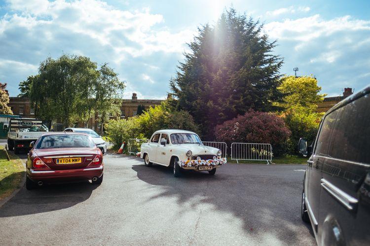 Indian Ambassador Wedding Car | Helen Abraham Photography