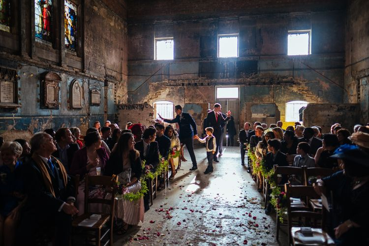 The Asylum Wedding Ceremony | Helen Abraham Photography