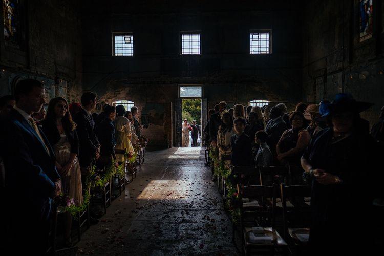 Bridal Entrance | The Asylum | Helen Abraham Photography