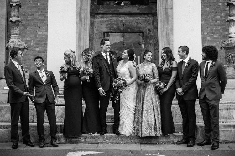 Wedding Party | Wedding Ceremony at The Asylum Packham | Helen Abraham Photography