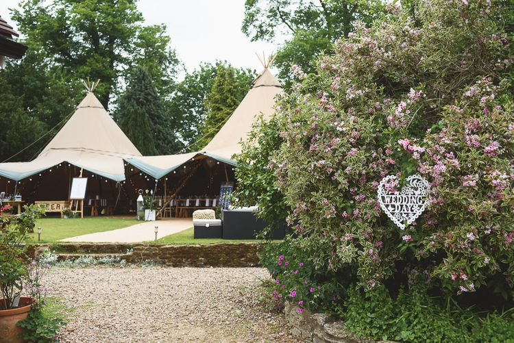 Outdoor Tipi Wedding at The Georgian Rectory Buckingham | Jackson & Co Photography | Blooming Lovely Films